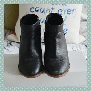 Joe Fresh 100% Leather Ankle Boots